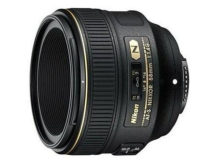 Nikon AF–S Nikkor 58 mm f/1,4 G