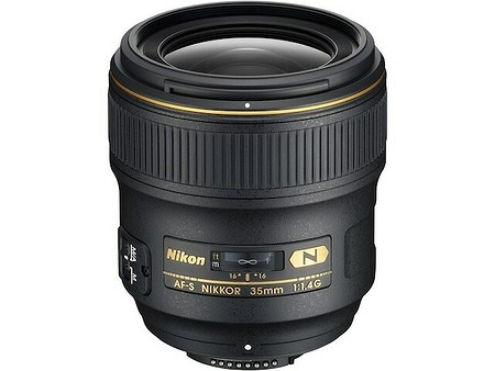 Nikon AF–S Nikkor 35 mm f/1,4 G