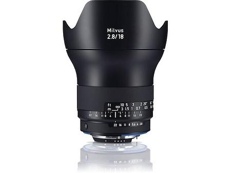 Zeiss Milvus 18 mm f/2,8 ZF.2