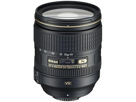 Nikon AF–S Nikkor 24–120 mm f/4 G ED VR