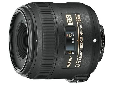 Nikon AF–S Nikkor 40 mm f/2,8 DX G Micro