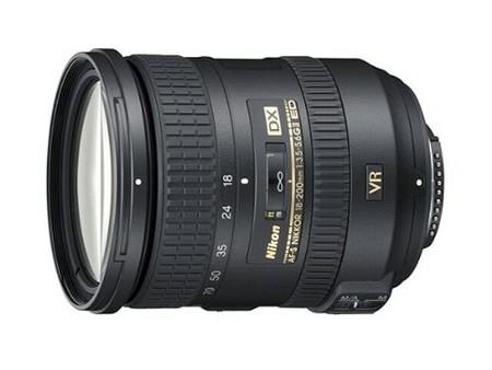 Nikon AF–S DX Nikkor 18–200 mm f/3,5–5,6 G ED VR II