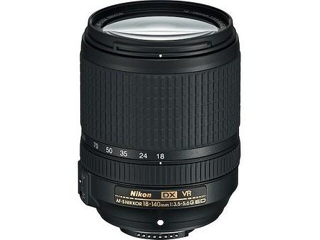 Nikon AF–S DX Nikkor 18–140 mm f/3,5–5,6 G ED VR