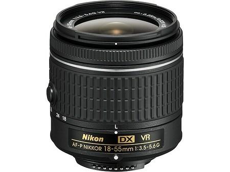 Nikon AF–P DX Nikkor 18–55mm f/3,5–5,6G VR