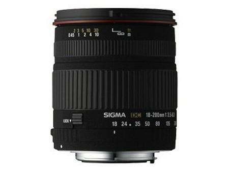 Sigma 18–200 mm f/3,5–6,3 DC Makro OS HSM (C)