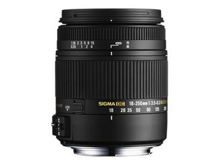 Sigma 18–250 mm f/3,5–6,3 DC Makro OS HSM