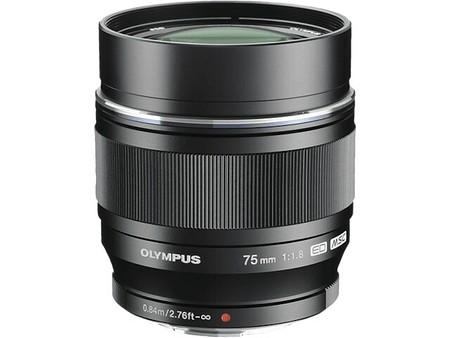 Olympus M.Zuiko Digital ED 75 mm f/1,8