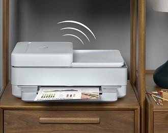 Компактный МФУ HP DeskJet Plus Ink Advantage 6475 не займет &...