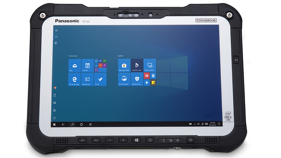 Panasonic представила защищённый планшет модульной конструкции Toughbook G2