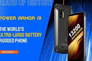 Анонсирован защищенный смартфон с гигантским аккумулятором на 13 200 мАч
