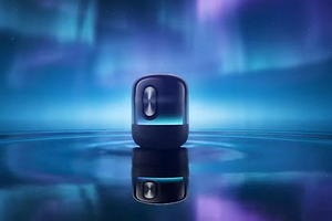 Ламповый дизайн, красочная визуализация и продвинутый звук: Huawei презентовала смарт-колонку Sound X 2021