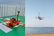 В России дрон впервые спас утопающего