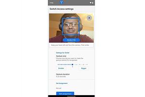 Android-смартфонами можно будет управлять с помощью мимики