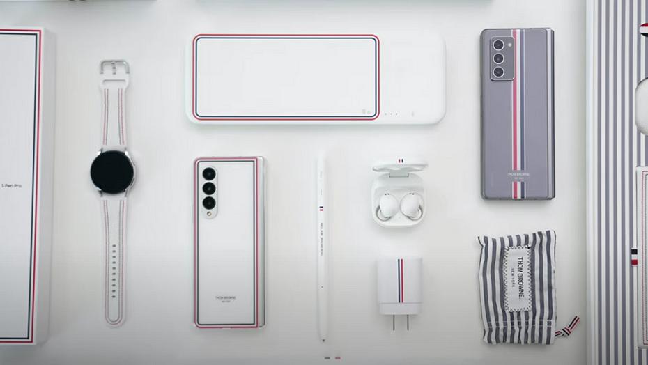 Смартфон за 260 000 рублей Пожалуйста! Представлен Samsung Galaxy Z Fold 3 Thom Browne Edition