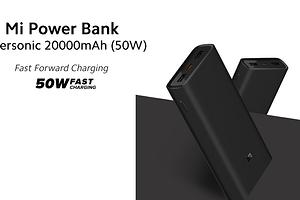 Xiaomi представила внешний аккумулятор с двухсторонней скоростной зарядкой