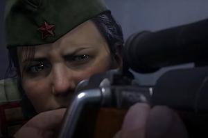 Полина Петрова рвется в бой за Сталинград: шутер о Второй мировой Call of Duty Vanguard представлен официально