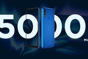 В РФ привезли Lenovo K13 — сверхбюджетный смартфон с батареей на 5000 мА*ч дешевле 7000 рублей