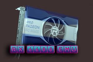 Видеокарты нет, а тесты есть — энтузиаст создал Radeon RX 6600 и сравнил ее с GeForce RTX 3060