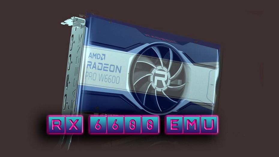 Видеокарты нет, а тесты есть  энтузиаст создал Radeon RX 6600 и сравнил ее с GeForce RTX 3060