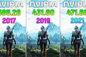 Имеют ли значение драйверы? Видеокарту GeForce GTX 1060 сравнили в играх с драйверами 2017, 2019 и 2021 годов