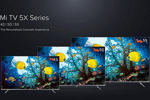 Xiaomi представила доступные 4K-телевизоры Mi TV 5X