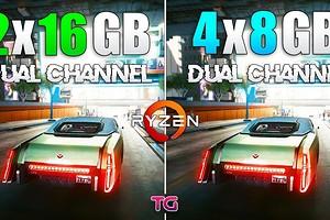 Четыре модуля ОЗУ по 8 ГБ или парочка по 16 ГБ — что лучше для игр?