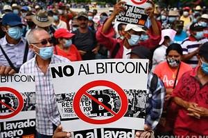 Биткоин не нужен? Жители Сальвадора протестуют против легализации первой криптовалюты