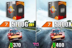 Какой процессор лучше для игр — cравнение AMD Ryzen 7 5700G и Ryzen 7 5800X