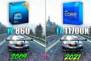 Спустя 12 лет — Intel Core i7-860 сравнили с Intel Core i7-11700K