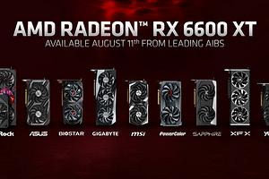 Названа стоимость нереференсных версий видеокарты AMD Radeon RX 6600 XT