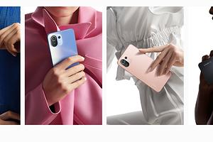 Xiaomi 11 Lite 5G NE стал самым легким смартфоном с 5G и большим аккумулятором