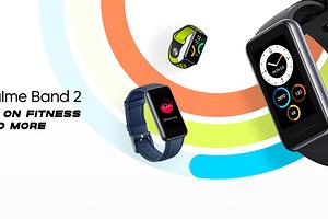 Большой экран по небольшой цене: Realme представила фитнес-браслет Band 2