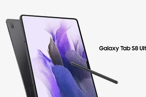 Samsung Galaxy Tab S8 Ultra получил очень большой и очень крутой экран