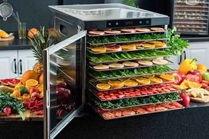 Лучшие сушилки для овощей и фруктов: топ-6