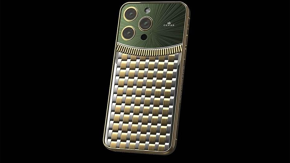 iPhone 13 Pro за 1 миллион рублей  Caviar предлагает эксклюзивные iPhone в стилистике Rolex