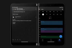 Microsoft анонсировала складной смартфон Surface Duo 2