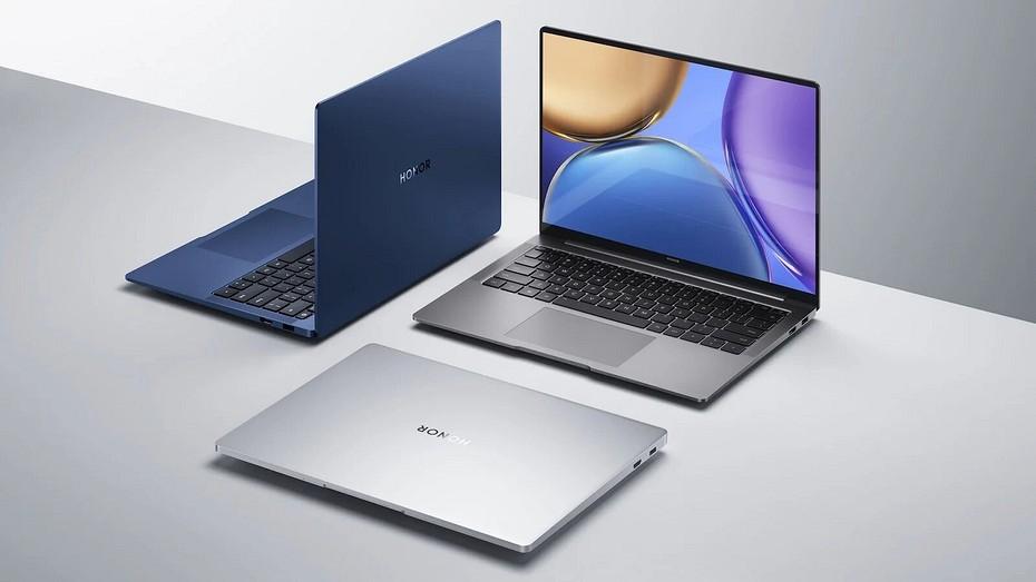 Представлен HONOR MagicBook V14  первый ноутбук с Windows 11