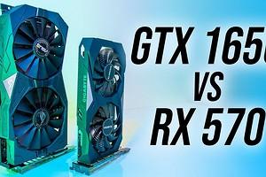 Старенькие, да удаленькие — сравнение видеокарт GeForce RTX 1650 и Radeon RX 570
