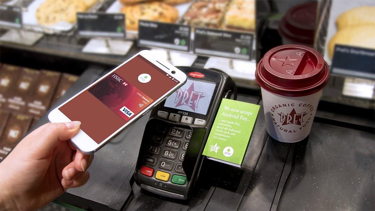 Телефоны с поддержкой бесконтактной оплаты